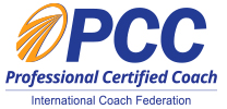 Professional Certified Coach with the International Coach Federation