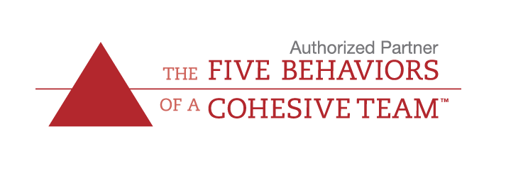 Authorized Partner Five Behaviors of a Cohesive Team logo
